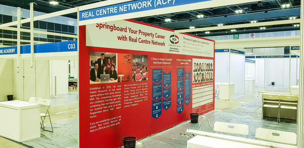 Property Exhibition Booth : Exhibition booth design fabrication singapore black mrkt